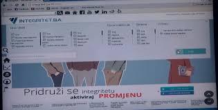 "Kratka video priča – ""Integritet.ba"" – predstavljanje web platforme"