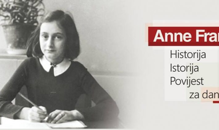 """Izložba """"Anne Frank – Historija, Istorija, Povijest za danas"""" u Sarajevu"""
