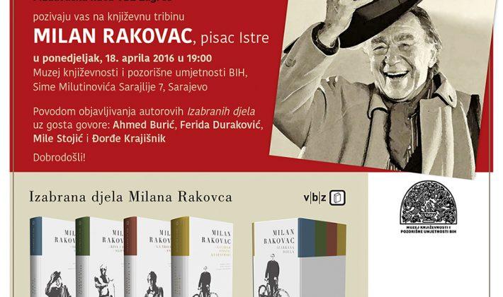 MILAN RAKOVAC, pisac Istre