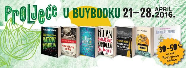 PROLJEĆE U BUYBOOKU  21–28. 4. 2016.