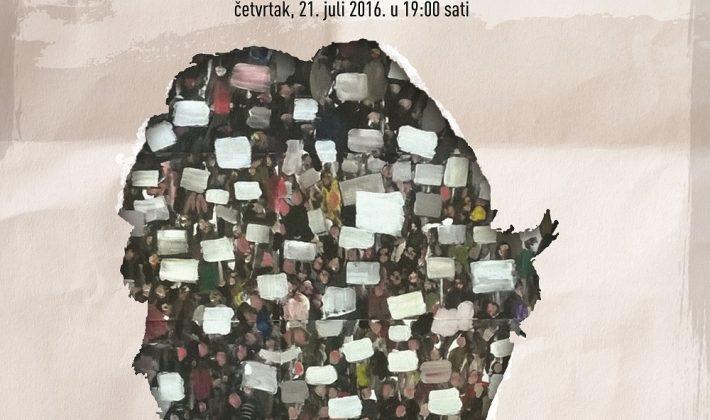 """Otvorenje izložbe """"Blank Title""""  Dženana Hadžihasanovića"""