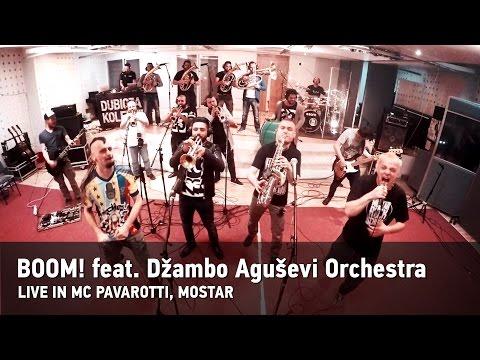 BOOM !!! – Dubioza kolektiv sa Agušev Cambo Orchestrom u Mostaru