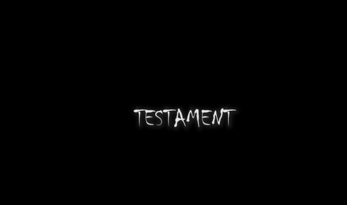 """Jednominutni film – """"Testament"""""""