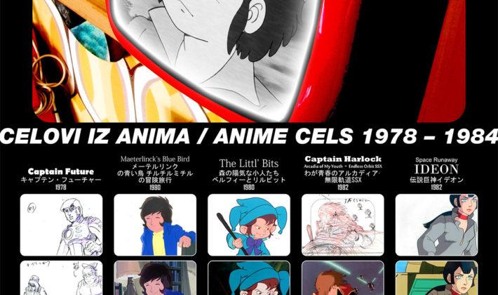 Celovi iz Anima / Anime Cels 1978 – 1984