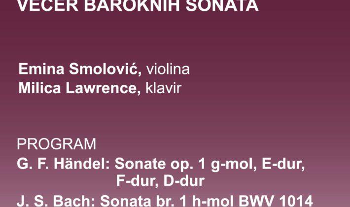Večer baroknih sonata