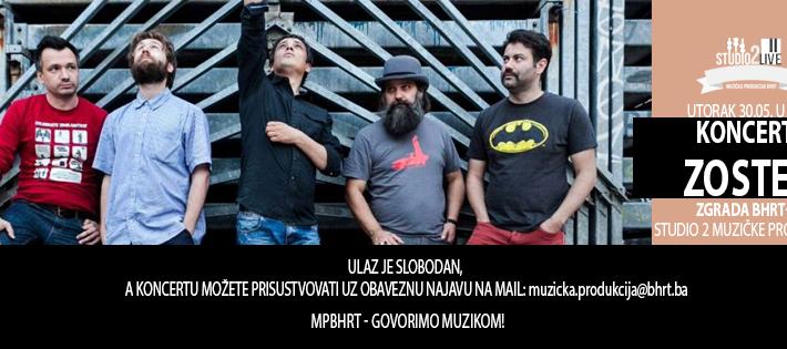 Danas je zadnji dan prijava za koncert grupe Zoster
