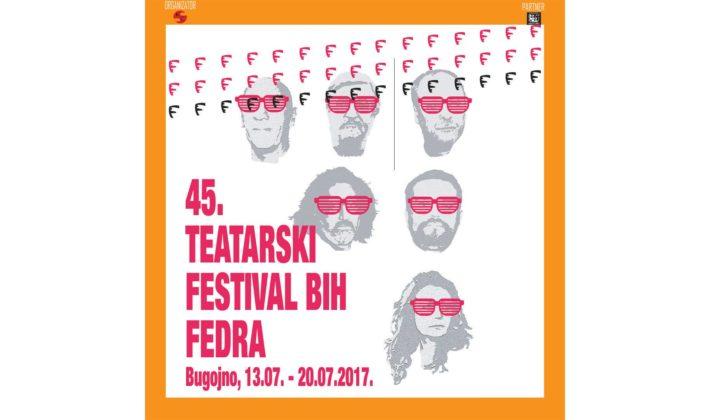 45. Teatarski festivali BiH FEDRA