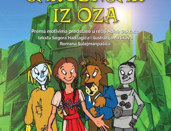 Promovisana ilustrovana knjiga za djecu po motivima predstave Čarobnjak iz Oza