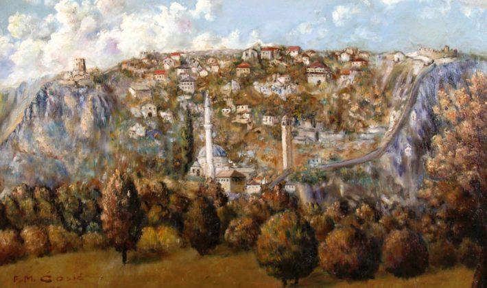 Otvorenje izložbe djela fra Mirka Ćosića