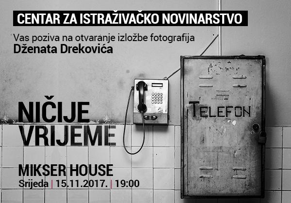 Otvaranje izložbe fotografija Dženata Drekovića