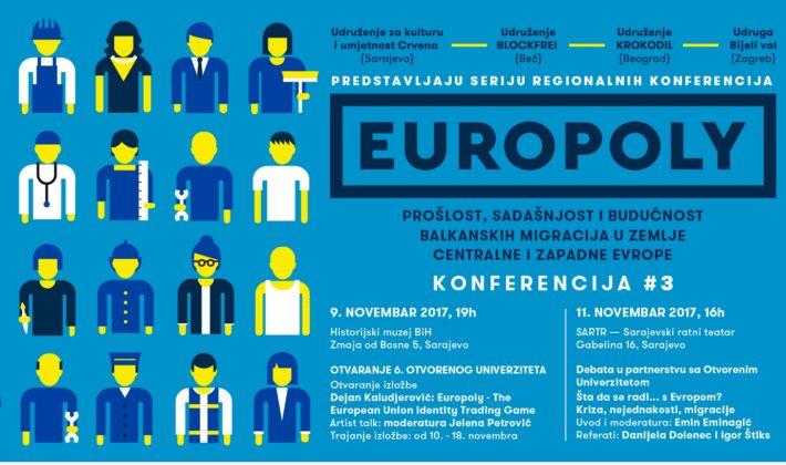 """Izložba """"Europoly – The European Union Identity Trading Game"""""""