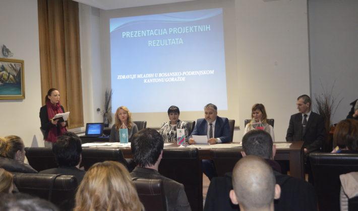 Formalno obrazovanje u službi zdravlja mladih u Bosansko- podrinjskom kantonu