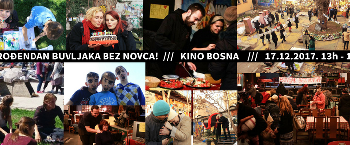 """Dvije godine """"Buvljaka Bez Novca"""" u Kinu Bosna"""