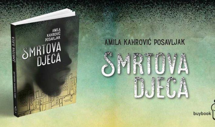 Promocija romana Smrtova djeca Amile Kahrović Posavljak u Buybooku