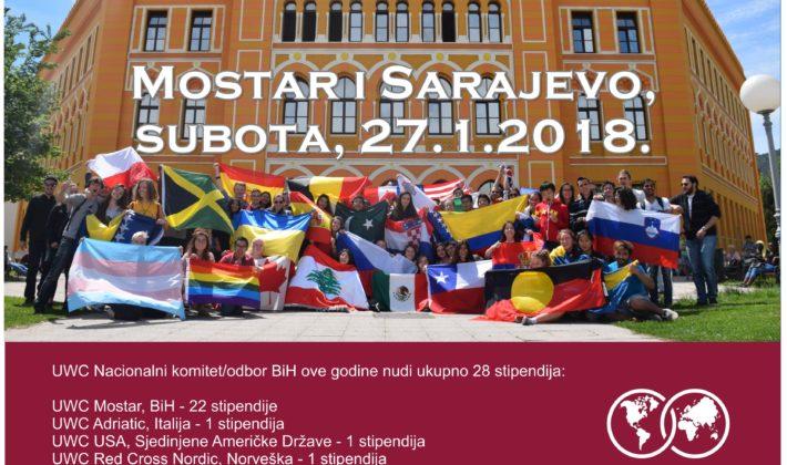 Dan otvorenih vrata Mostar i Sarajevo UWC Mostar