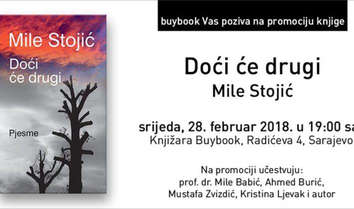 Promocija knjige Mileta Stojića u Buybooku