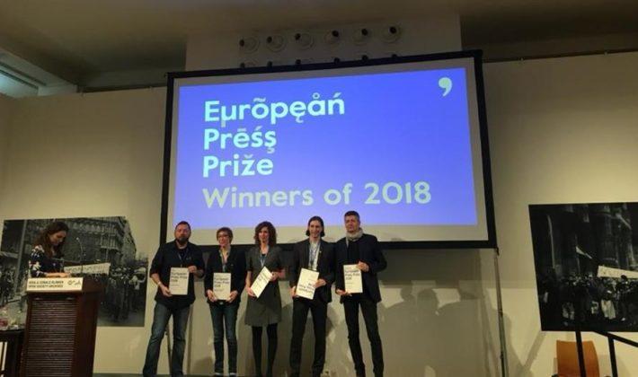 Dragan Bursać dobitnik je nagrade European Press Prize 2018.