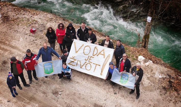 """""""Građani ujedinjeni u očuvanju rijeka"""""""