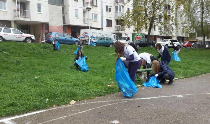 Akcija čišćenja otpada na Dobrinji