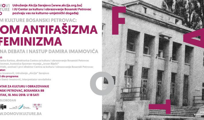 Javna debata i nastup Damira Imamovića