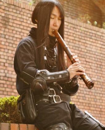 Koncert na japanskoj fruli od bambusa