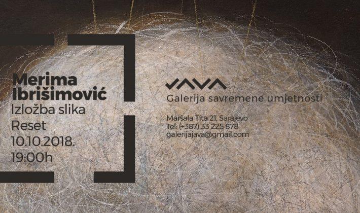 """Izložba slika """"Reset"""" tuzlanske umjetnice Merime Ibrišimović u JAVA galeriji"""