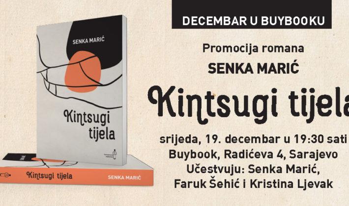 "Promocija romana ""Kintsugi tijela"" Senke Marić u Buybooku"