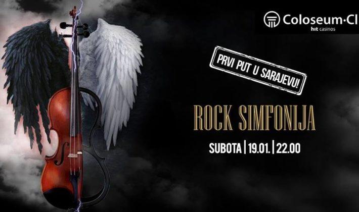 """""""Rock simfonija"""" u Coloseum Clubu"""