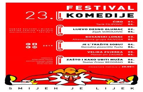 """23. Festival komedije """"Smijeh je lijek"""""""