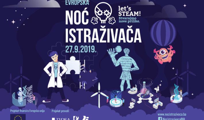 Noć istraživača BiH 2019
