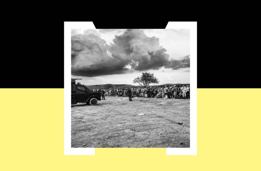"""Večeras u 21 sat online izložba """"Izbjeći rat"""" fotografa Luigija Ottanija i umjetnice Roberte Biagiarelli"""