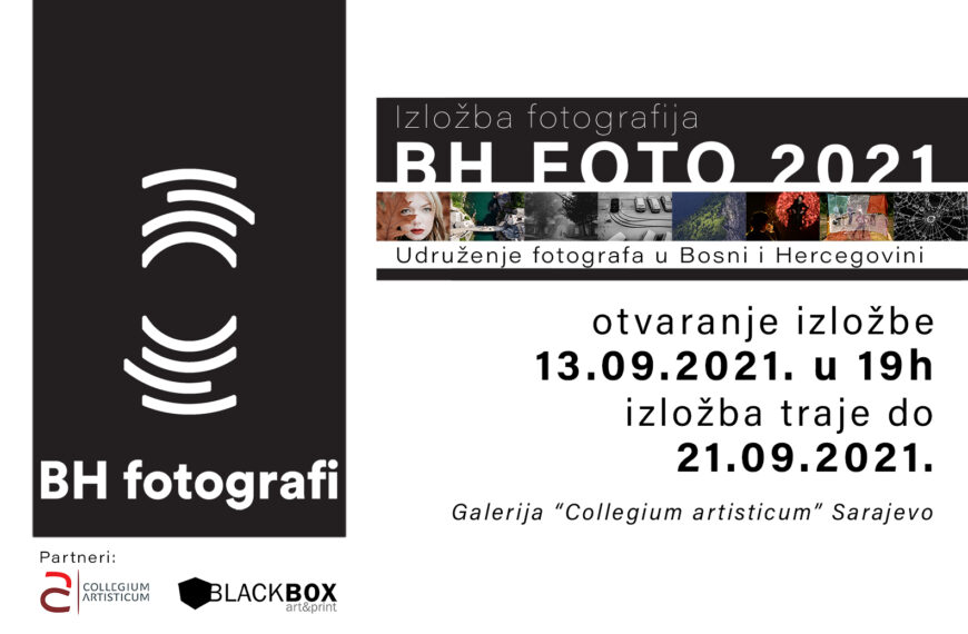 """Izložba fotografija """"BH FOTO 2021"""", i predavanja na temu """"Autorska prava fotografa"""" i """"Etika rada i etička pravila"""""""