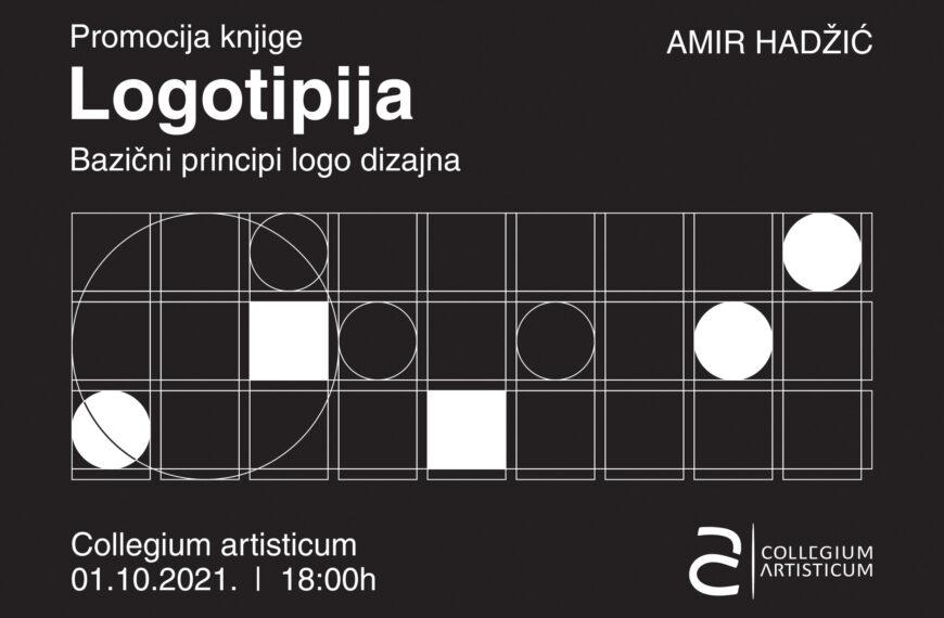 """Promocija knjige Amira Hadžića """"Logotipija-bazični principi logo dizajna"""" u galeriji Collegium Artisticum"""